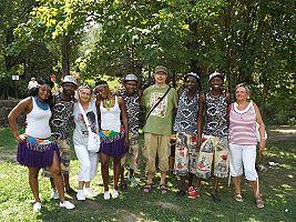 Druhý den festivalu Doteky Afriky 2014